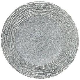 ミヤザキ食器 MIYAZAKI マラケシュ チャージャープレート 28cm シルバー <RPLL401>[RPLL401]