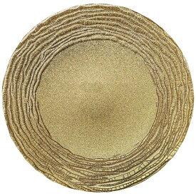 ミヤザキ食器 MIYAZAKI マラケシュ チャージャープレート 28cm ゴールド <RPLL301>[RPLL301]