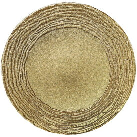 ミヤザキ食器 MIYAZAKI マラケシュ チャージャープレート 32cm ゴールド <RPLL302>[RPLL302]