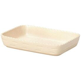 ミヤザキ食器 MIYAZAKI カンパーニャ 長角ベーカー クリーム 20cm CP0820(CR) <RCA0102>[RCA0102]