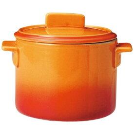 ミヤザキ食器 MIYAZAKI ソレイユ 蓋付カップ S SO4812 オレンジ <RSLH801>[RSLH801]