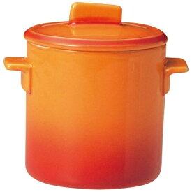 ミヤザキ食器 MIYAZAKI ソレイユ 蓋付カップ SS SO4808 オレンジ <RSLH701>[RSLH701]