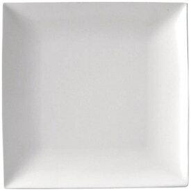 ミヤザキ食器 MIYAZAKI スパッツィオ スクエア プレート 白 (M)7 3/4インチ <RSP4603>[RSP4603]