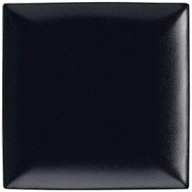 ミヤザキ食器 MIYAZAKI スパッツィオ スクエア プレート 黒 (S)6 1/2インチ <RSP4902>[RSP4902]
