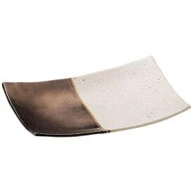 ミヤザキ食器 MIYAZAKI 奏 長角皿 ゴールドホワイト 21cm <RSU0801>[RSU0801]