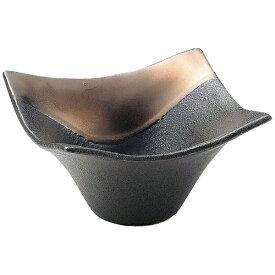 ミヤザキ食器 MIYAZAKI 奏 角小鉢 ゴールドブラック 11cm <RSU0901>[RSU0901]