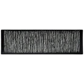 ミヤザキ食器 MIYAZAKI エルバ レクタンギュラープレート ロング 黒 <REL1701>[REL1701]
