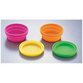 河西 シリコンアイスカップ 4色セット <WAI1301>[WAI1301]
