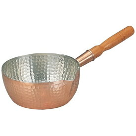 丸新銅器 marusin douki 《IH非対応》 銅製雪平鍋 15cm <AYK07015>[AYK07015]