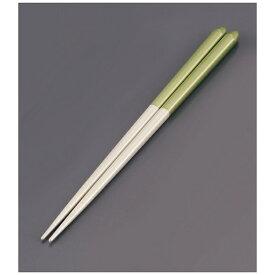 リック 木製 ブライダル箸(5膳入) パールホワイト/グリーン <RHSR904>[RHSR904]