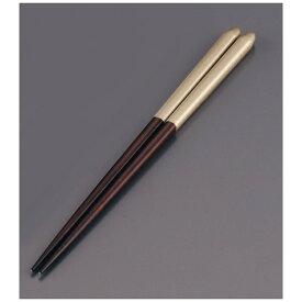 リック 木製 ブライダル箸(5膳入) オーク/ゴールド <RHSR906>[RHSR906]