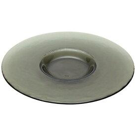 フィーリッツ・ガラスハウス フィーリッツ ワイドリムプレート スモークグレー <RPLK102>[RPLK102]