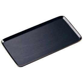 かんだ KANDA 陶磁器 ケーキプレート 角(金線入) 黒 <WKCO802>[WKCO802]