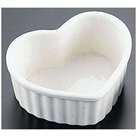 かんだ KANDA 耐熱性陶器 ハート型スフレ (10個入) <RSH2301>[RSH2301]