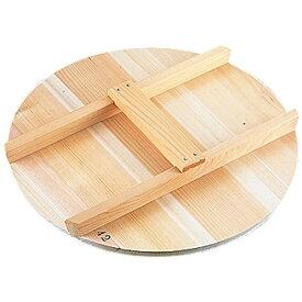 雅うるし工芸 厚手サワラH型取手木蓋 42cm用 <AKB03042>[AKB03042]