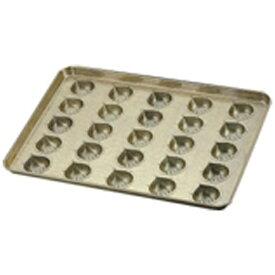 千代田金属工業 シリコン加工 マロンケーキ型天板 (25ヶ取) <WTV41>[WTV41]