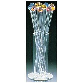清水食器 アクリル カラーマドラー12本セット (スタンド付)4422 <OMD76>[OMD76]