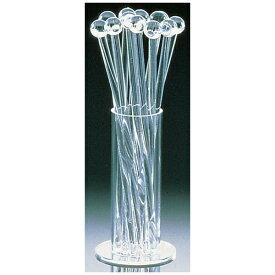 清水食器 Shimizu Tableware アクリル クリアーマドラー12本セット (スタンド付)4421 <OMD75>[OMD75]