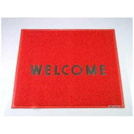 3Mジャパン スリーエムジャパン 3M 文字入マット WELCOME 赤 <KMT1313A>[KMT1313A]