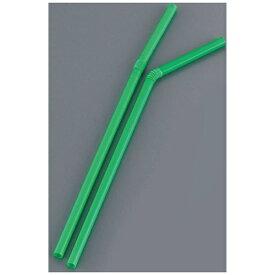 日東ストロー商会 フレキシブルストロー裸 LF-621 (500本入)緑 <EST5201>[EST5201]
