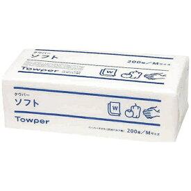 トライフ トウカイ ペーパータオル (25束入) タウパー ソフトM <KTO2601>[KTO2601]
