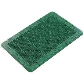 山崎産業 クロスハードマット 900×1200mm 緑 <KMT21125A>[KMT21125A]