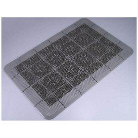 山崎産業 クロスハードマット 900×1200mm グレー <KMT21129D>[KMT21129D]