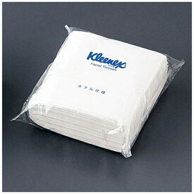 日本製紙クレシア crecia クリネックス ティシューハーフサイズW ポリパック(1ケース96袋入) <VTI2401>[VTI2401]