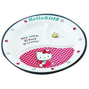 台和 Daiwa メラミンお子様食器「ニューキティ」 丸ランチ皿(ギンガム) <RLV73>[RLV73]