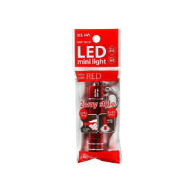 ELPA エルパ キーライト レッド DOP-785(R) [LED /ボタン電池]