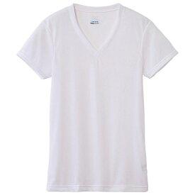 ミズノ mizuno メンズ アンダーウエア ドライベクターエブリ Vネック半袖シャツ(LLサイズ/オフホワイト)C2JA610102