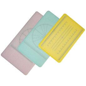 山県化学 調理用積層式目盛り入りまな板 長方形 S ピンク <AMNE501>[AMNE501]