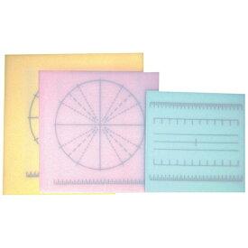 山県化学 調理用積層式目盛り入りまな板 正方形 M ピンク <AMNE604>[AMNE604]
