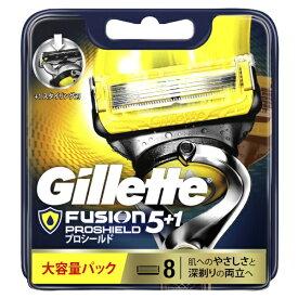 ジレット Gillette Gillette(ジレット) フュージョン 5+1 プロシールド 替刃8個入 〔ひげそり〕