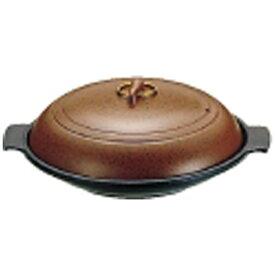 遠藤商事 Endo Shoji 《IH非対応》 SAやまと陶板鍋(アルミ製)18cm 浅型 <QTU07181>[QTU07181]