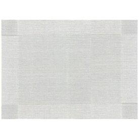 ミヤザキ食器 MIYAZAKI カーサ プレースマット DH06027C ホワイトG <QMTG901>[QMTG901]