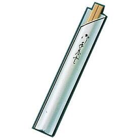 ツボイ 割箸袋入 茶線 白樺元禄 20.5cm (1ケース100膳×40入) <XHSA0>[XHSA0]