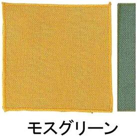 アベイチ ABEICHI 綿 コースター(10枚入) CC5601 モスグリーン <PKCP904>[PKCP904]
