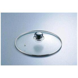 遠藤商事 Endo Shoji 万能アルミ鍋用ガラス蓋 AJ-24F 24cm用 <QBV2603>[QBV2603]