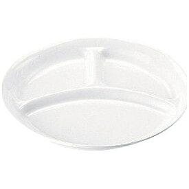 三井陶器 高強度磁器 ホワイト WH-028 仕切皿 <RSK8301>[RSK8301]