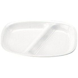 三井陶器 高強度磁器 ホワイト WH-035 角仕切皿 <RSK8401>[RSK8401]
