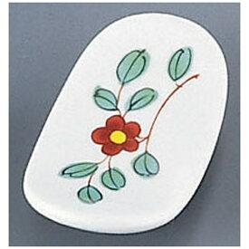 丸モ高木陶器 MARUMO TAKAGI AZ9-48 イングレ花箸置 <PMR0901>[PMR0901]