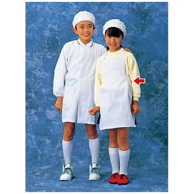 サカノ繊維 SAKANO SENI 学童給食衣(ホワイト)SKV362 M <SKY15002>[SKY15002]