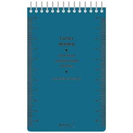 デザインフィル DESIGNPHIL [メモ] ルーラーメモ <M> 青 38ページ 11590006