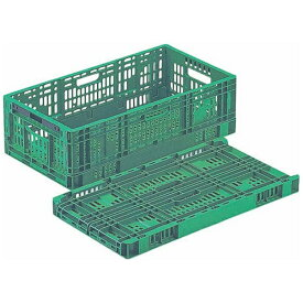 岐阜プラスチック工業 Gifu Plastic Industry 卵パック用折りたたみコンテナ RS-MM37S <AKVM701>[AKVM701]