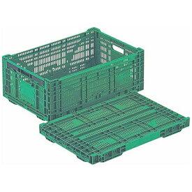 岐阜プラスチック工業 Gifu Plastic Industry 折りたたみコンテナ RS-MM44S <AKVM501>[AKVM501]