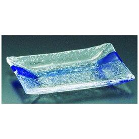 吉沼硝子 Yoshinuma Glass 硝子和食器 一筆2 長角中皿 <RTY57>[RTY57]
