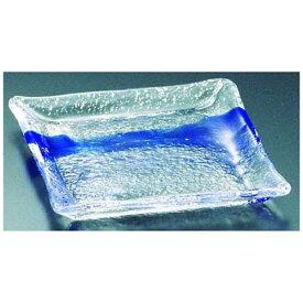 吉沼硝子 Yoshinuma Glass 硝子和食器 一筆10 正角中皿 <RSY11>[RSY11]