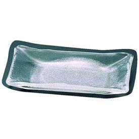 吉沼硝子 Yoshinuma Glass 硝子和食器 白雪2 長角中皿 <RTY55>[RTY55]