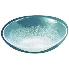 吉沼硝子 Yoshinuma Glass 硝子和食器 白雪15 40cm 丸盛込皿 <RML31>[RML31]